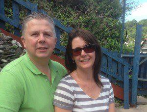 Martin and Rachel Cornwall 2014