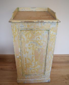 Painted Cupboard with Pine Top