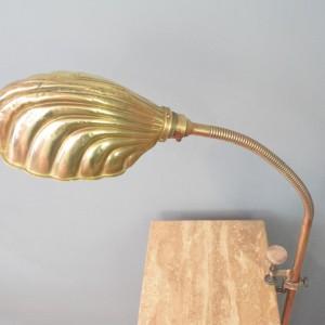 Brass Shell Lamp