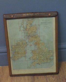 Vintage Dunlop Map Book