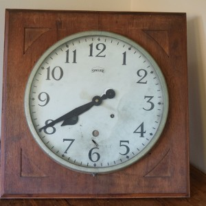 large  Factory Clock by Synclock