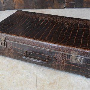 Mock Crock Suitcase