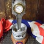 Hurricane Merlin Piston Con Rod Clock