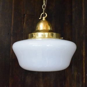 Art Deco Opaline Chapel LIght