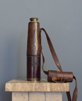 WWI 1916 Broadhurst Clarkson 3 Draw Telescope
