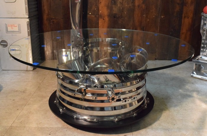 Rolls-Royce Dart Engine Nozzle Box Coffee Table – Commissioned Piece