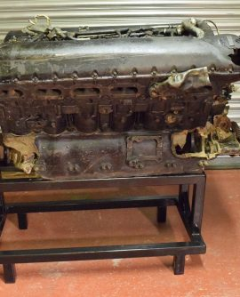 Original WW11 P51 Mustang Merlin engine