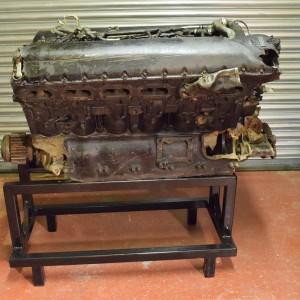 Original WW11 P51 Mustang Merlin engine
