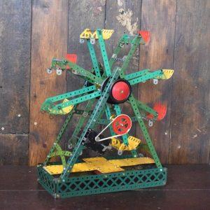 Vintage Metal Meccano Ferris Wheel