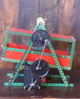 Vintage Meccano Fairground Swing