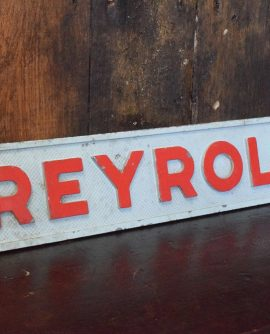 vintage Reyrolle Factory Sign
