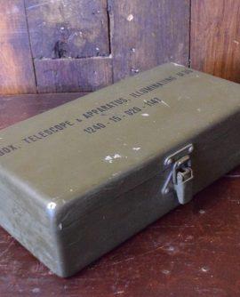 Military Telescope Box