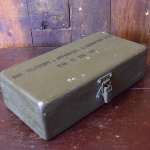 Military Telescope Box