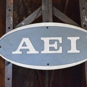 AEI Engineering Sign