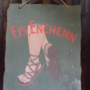 Celtic Eis Enchenn double sided wooden Sign