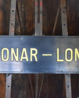 Bonar-Long Sign