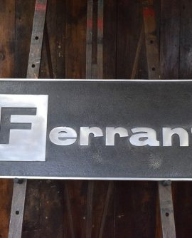 Large Ferranti Sign