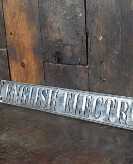 English Electric Sign
