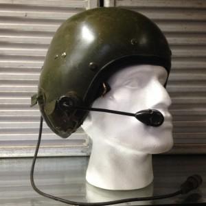 Military Pilot's Helmet - Amplivox