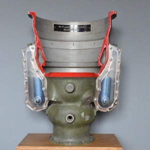 Air to Air Refuelling Drogue Reception Coupling - Cut Away Display