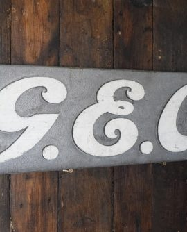 GEC Factory Sign