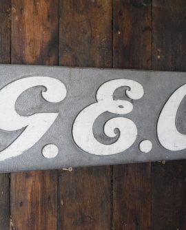 GEC Factory Sign