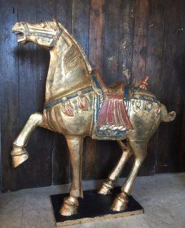 Large Wooden Vintage Fairground Horse