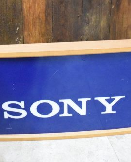 Vintage Light Up Sony Shop Sign