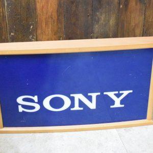 Vintage Light Up Sony Shop Sign