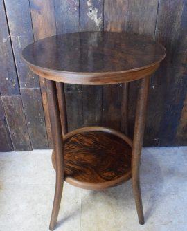 Vintage Fischel Bentwood Side Table