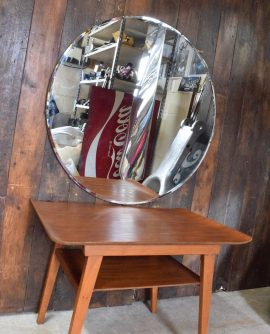 Extra Large Round Bevelled Edge Mirror