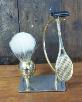 Tennis-themed Novelty Vintage Shaving Set