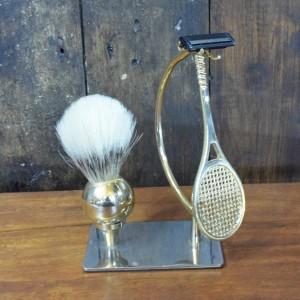 Tennis-themed Novelty Vintage Shaving Set