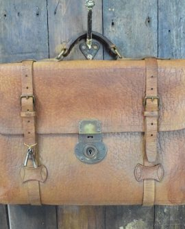 Vintage Leather Satchel/Case