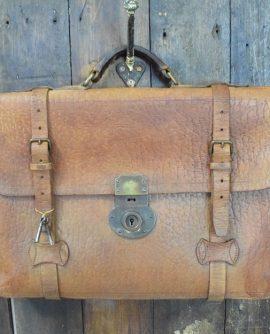 Vintage Leather Satchel/Case