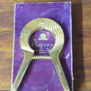 Asprey's of London Gold Plated Champagne Bottle Opener