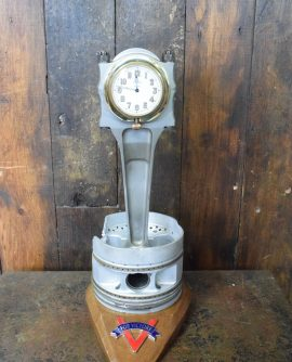 Hurricane Merlin Con Rod and Piston Clock