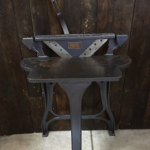 Industrial Cast Iron Mitre Cutting Table