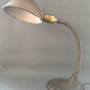Art Nouveau Gooseneck Lamp