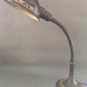vintage Art Nouveau Gooseneck Lamp