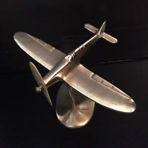 Brass Spitfire Model