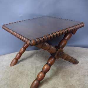 Small Side Table - Bobbin Style