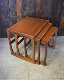 Mid Century G Plan nest of Tables in Teak