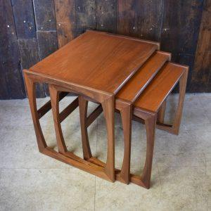Mid Century G Plan nest of Tables in Teak