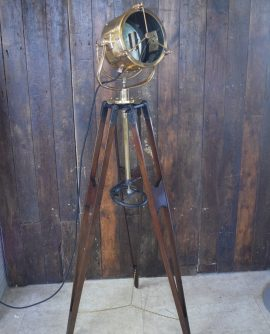 Francis Naval Search Light on Tripod