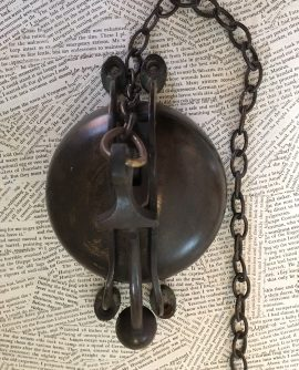 Antique Brass Shop Bell