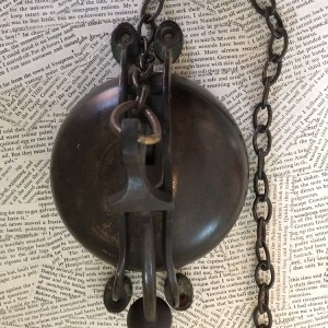 Antique Brass Shop Bell