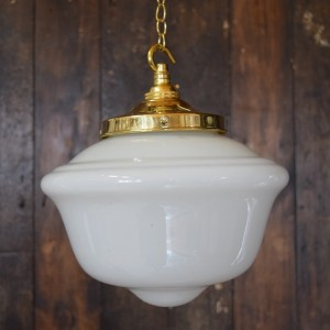 small schoolhouse pendant