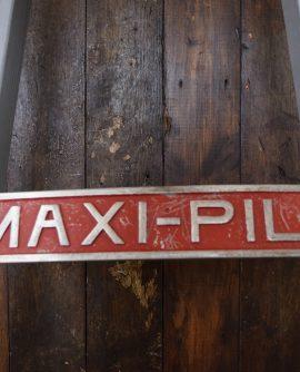 maxipile sign