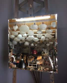 6681 square frameless mirror